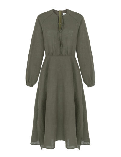 wildnslow_AKEMI dress_KHAKI_3