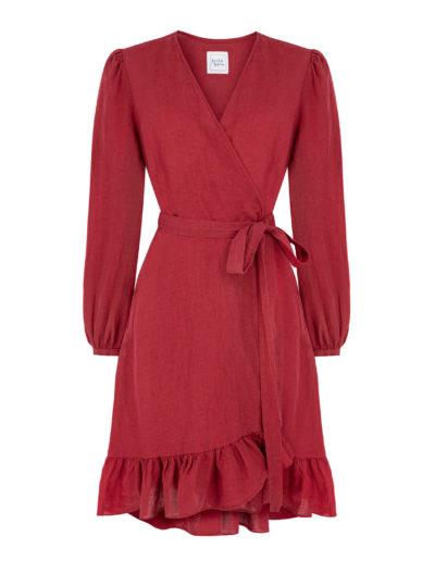 wildnslow_MARY'LIN dress_Red_3